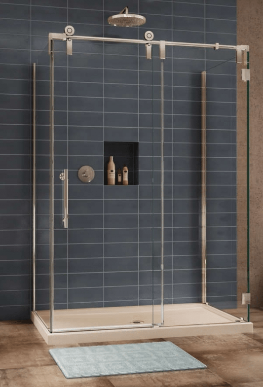 glass shower doors chicago bathroom replacement