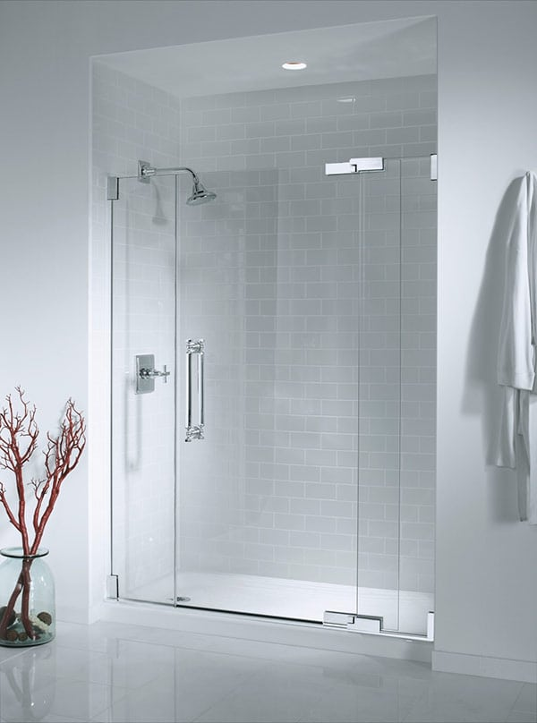 shower glass doors evanston modern style bathroom