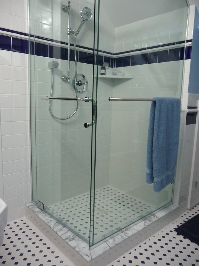 glass shower doors mount prospect