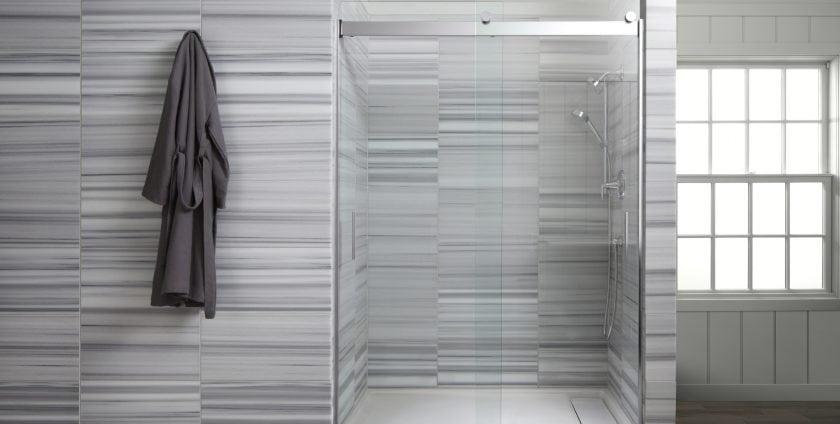 glass shower doors